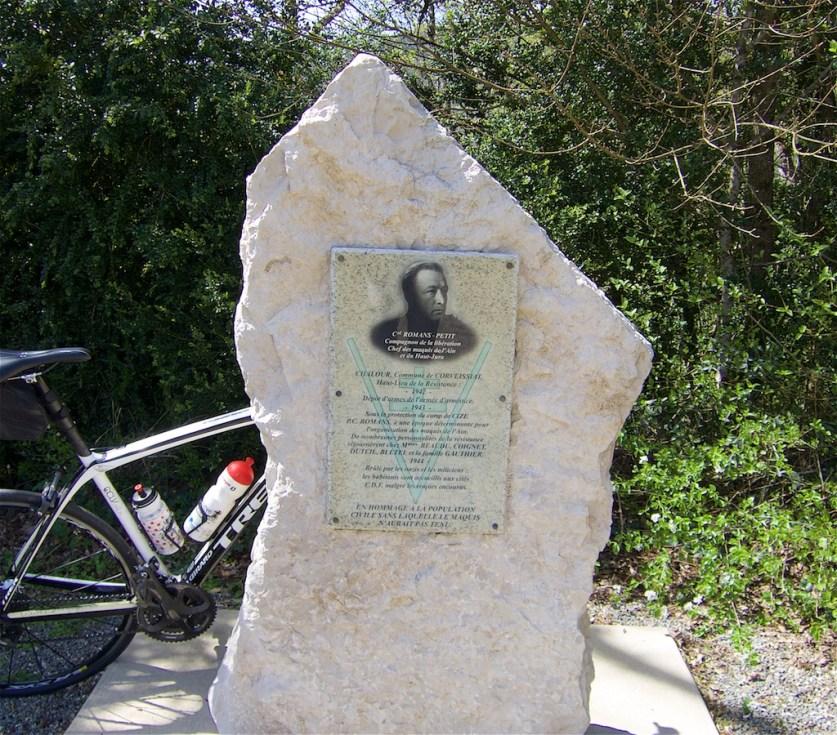 Henri Romans-Petit. Leader of the l'Ain Maquis