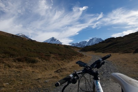 Approaching Posettes, Alps!