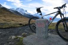 Swiss border / Col de Balme
