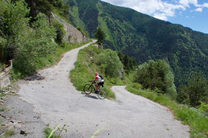 The steep stretch