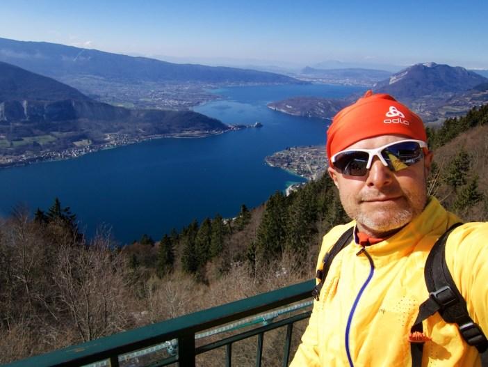 Lake view from Col de la Forclaz