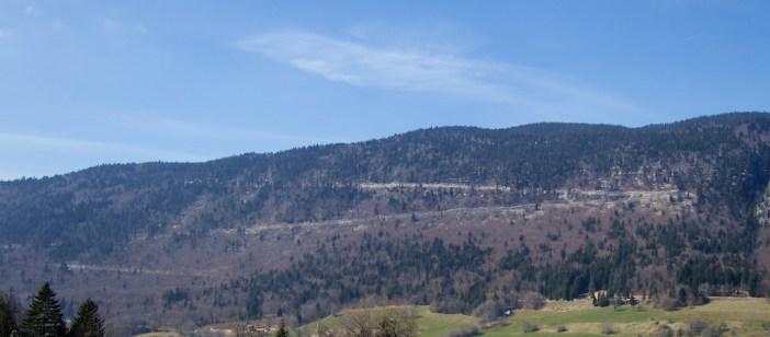Above Col de Leschaux
