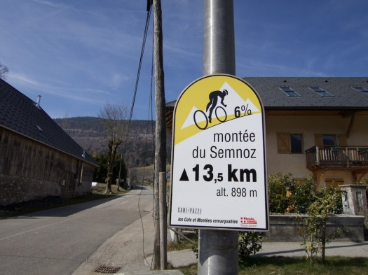 At Col de Leschaux