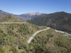 Road to Col de Baume