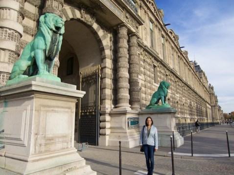 Louvre Lions