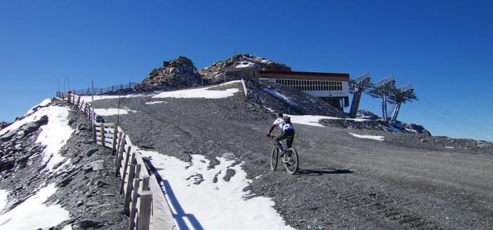 Col de la Montée du Fond (3003m) just behind me