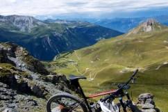 At 2550 metres, near but above Col de la Chal