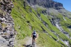 descending from La Tourche
