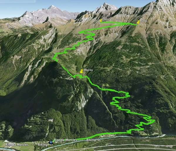 3D Photo of Route