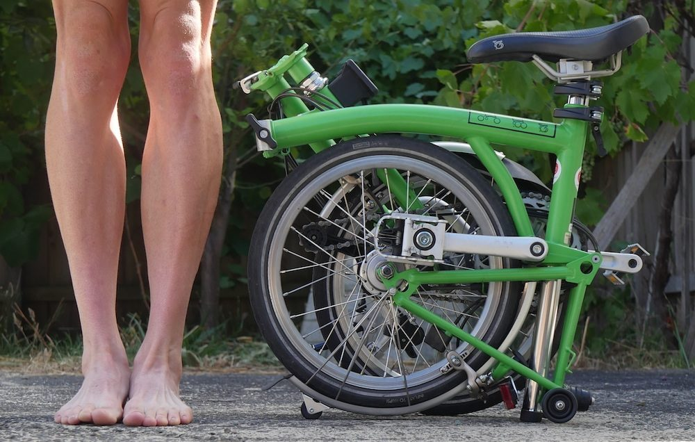 Brompton Folding Bike Dimensions