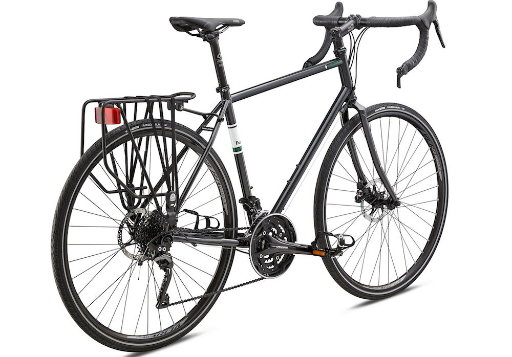The New 2018 Fuji Touring Disc Premium Touring Bike