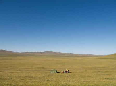 Nice camping spot north of Ikh Tamir
