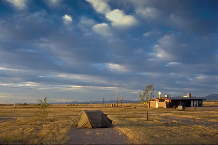 camping at Sunizona