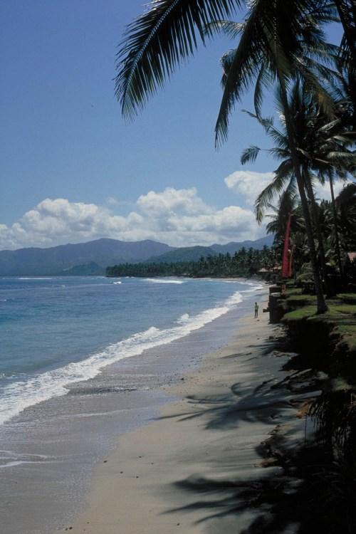 beach at Candi Dasa