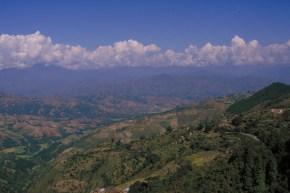 beautiful views from Kathmandu Valley