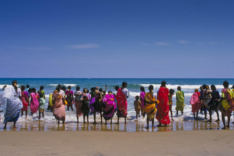 saris on sea