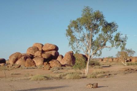 Devils marbles, near Uluru