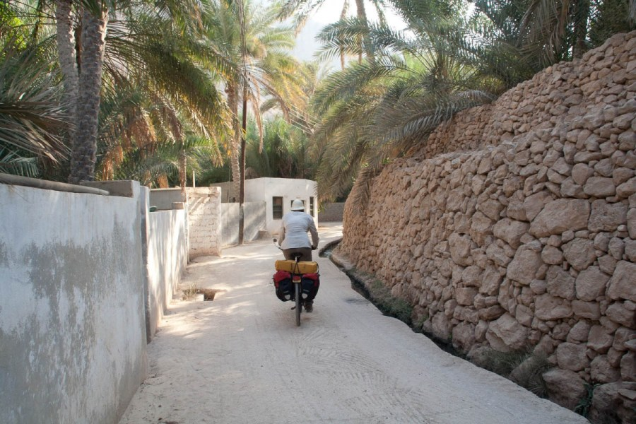 Wadi Tiwi village road
