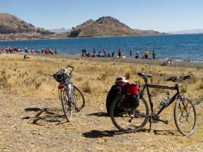 Along Lake Titicaca