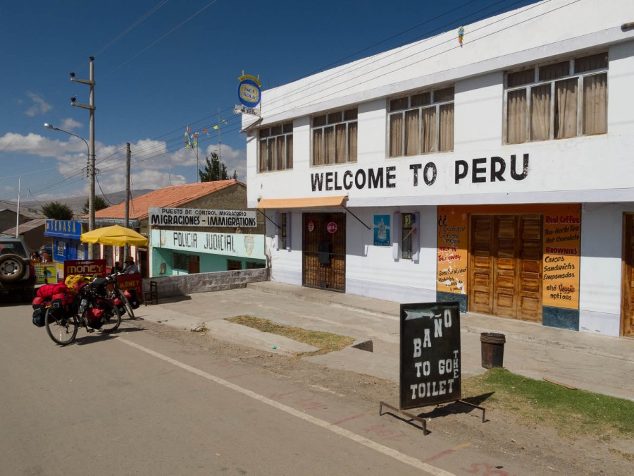 Entering Peru (for one day)