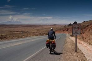 La Paz in the far distance