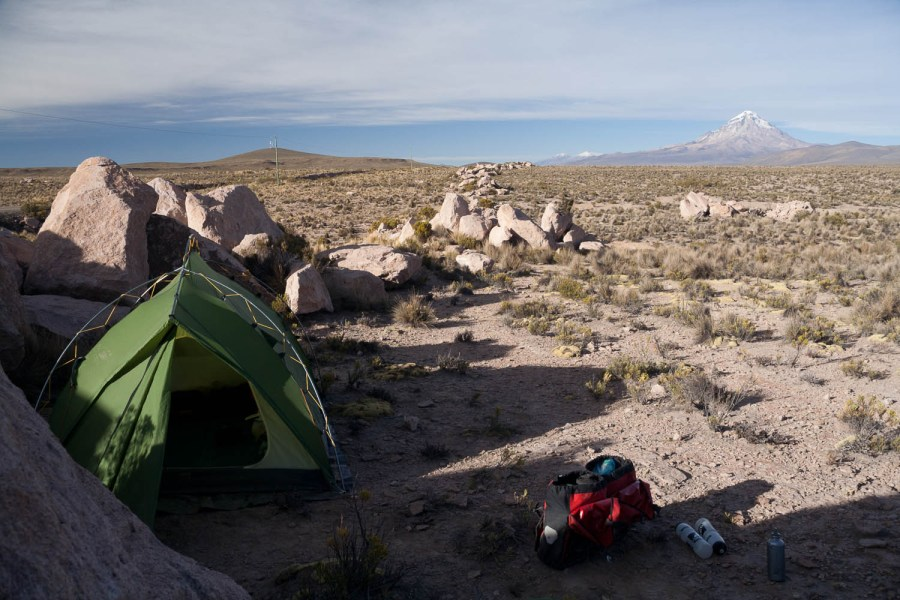 Free camp near Sajama