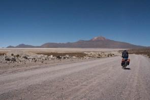 First views of Tunupa vulcano