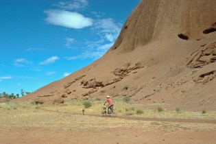 cycling around Uluru (Ayers Rock)