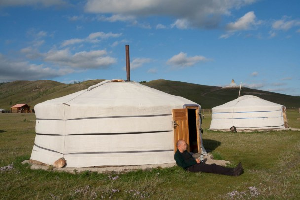 Ger in Mongolia