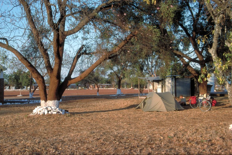 camping at Filabusi Police Station