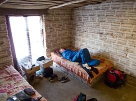 Sleeping in a salt hotel (Bolivia)