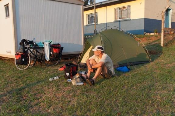 Camping at Bhunya police station