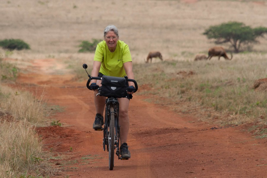 Cycling in Mliwane Nature Reserve