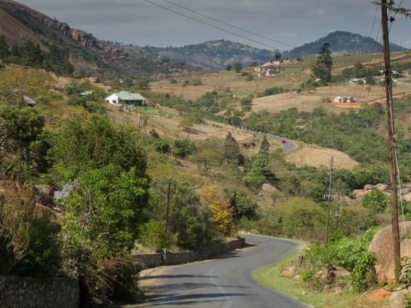 Just outside Mbabane