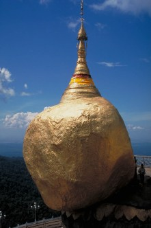 The Golden Rocj of Kyaikto