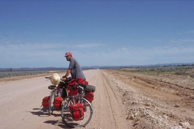 Quiet gravel road