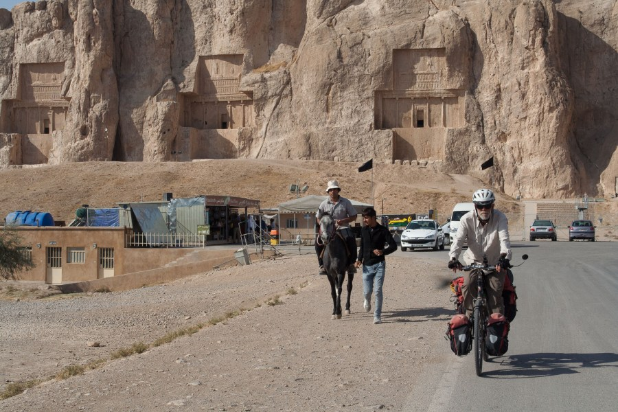 at one of the northern sites of Persepolis