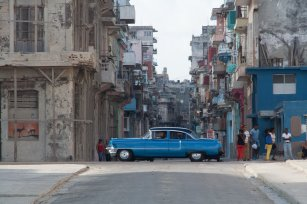 back in Havana