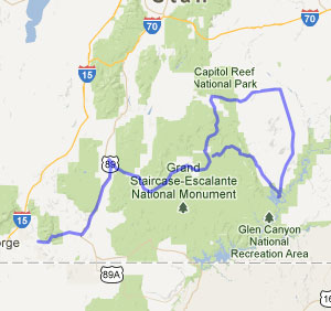 Utah 5 Parks Cycling Escapes Bicycle Tours