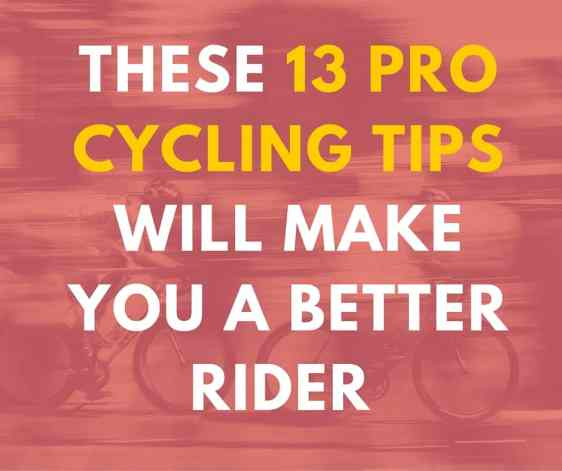 road biking tips