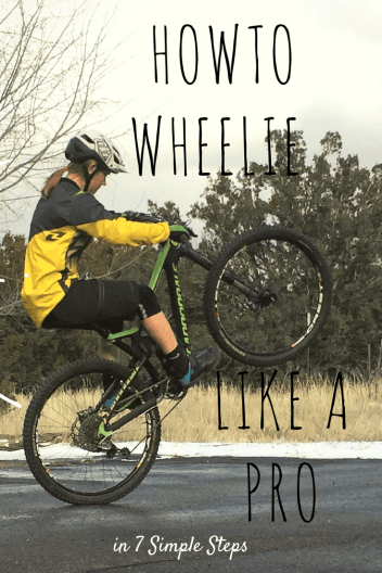 how to wheelie a bike