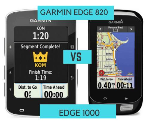 Garmin 820 vs 1000