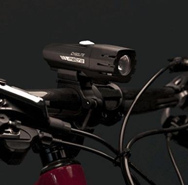 Cygolite Metro 400 Lumen USB Rechargeable Bicycle Headlight Black 400 Lumens