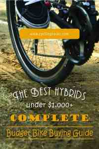 The Best hybrids under $1,000 + Complete Budget Bike Buying Guide-01
