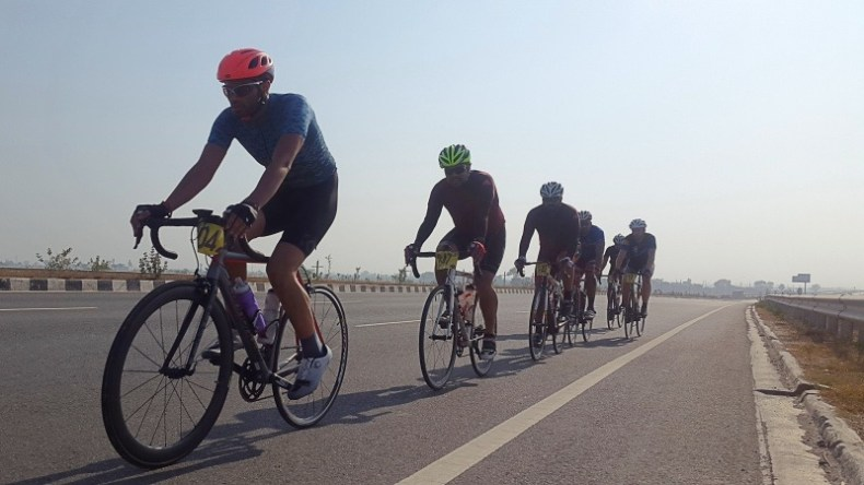 Cycling on KMP Highway