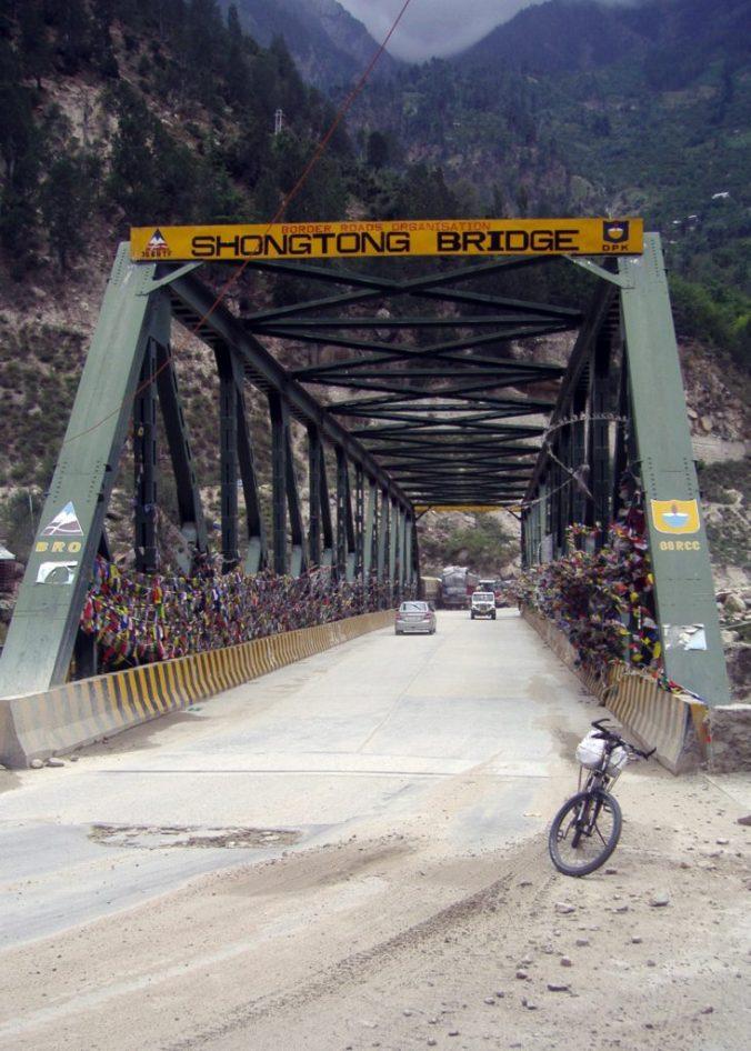 Shongtong Bridge in Spiti