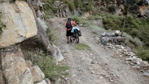 Cycling from Urni to Kalpa