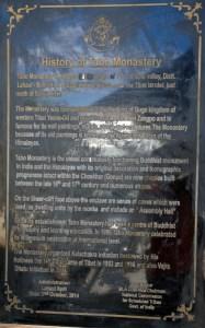 History of Tabo Monastery