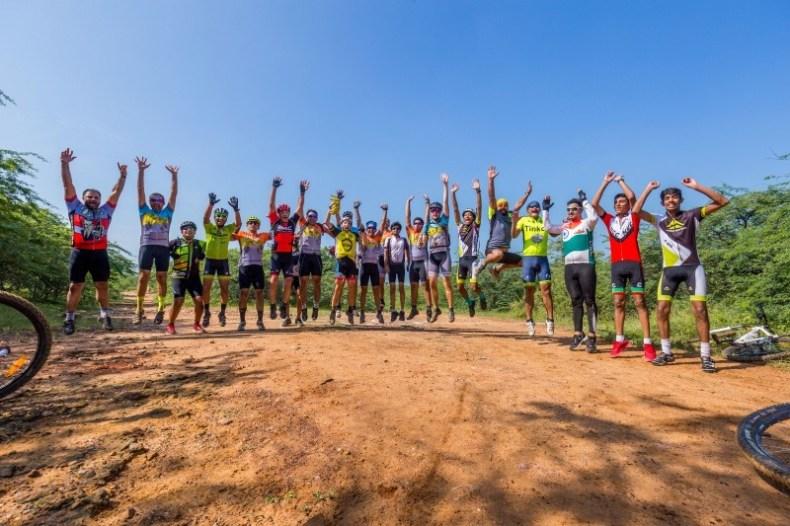 Aravalli Trailhunters race finish