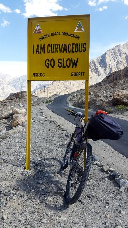 Funny BRO signboards in Ladakh